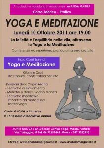 Conferenza Presentazione Corsi – Centro Yoga e Meditazione Fonte Nuova