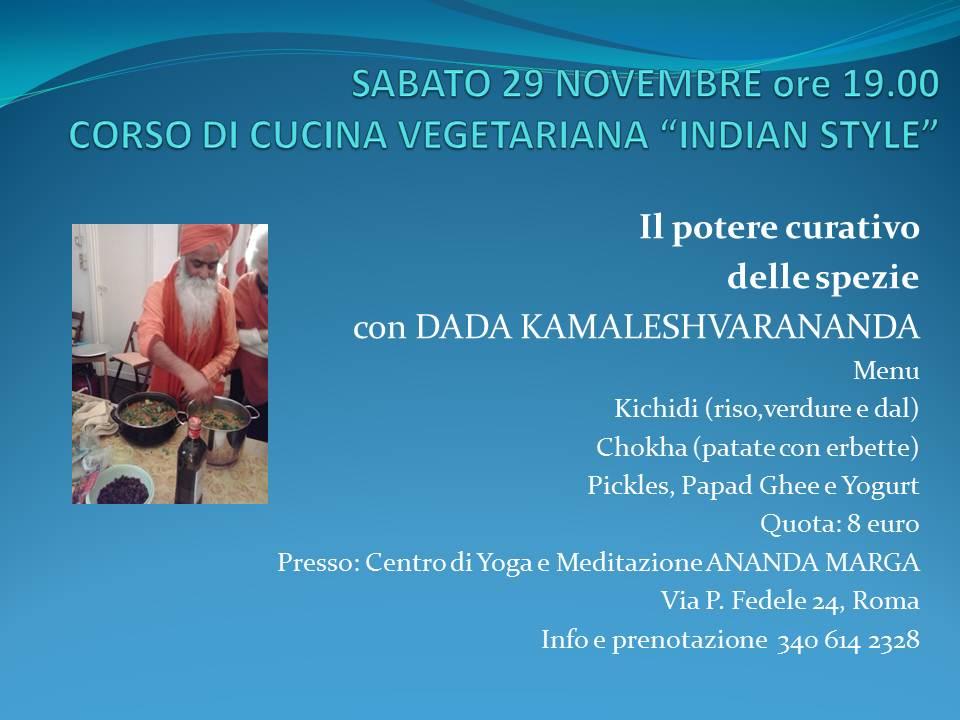 Corso Cucina Vegetariana – Roma