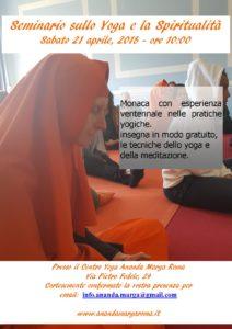 Chakra ed Emozioni – seminario di yoga e meditazione