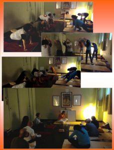 Classe Yoga con Guido Vittorio Di Gioacchino