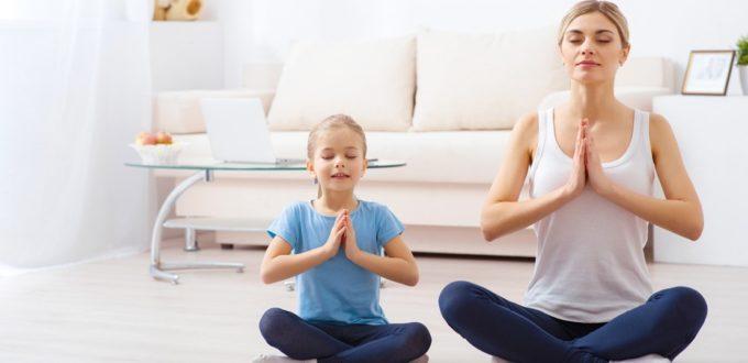 yoga bimbi, genitori e figli