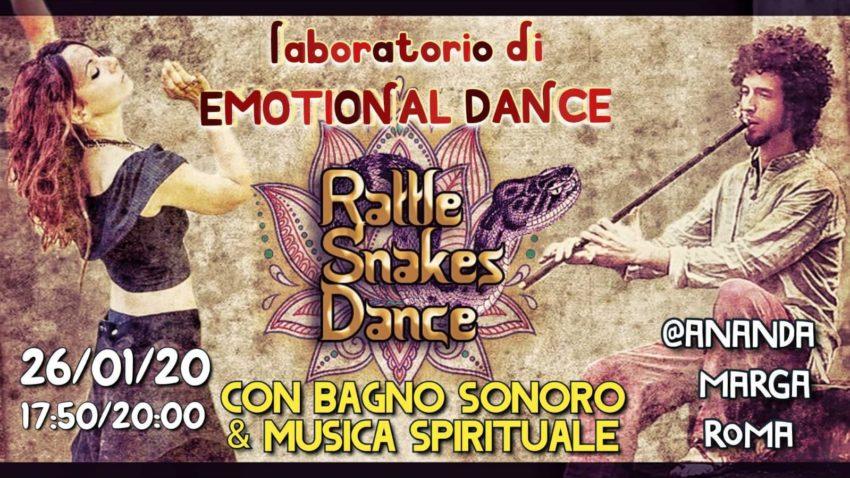 Laboratorio Danza Emozionale, Bagno Sonoro, Musica Spirituale